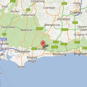 Sussex Map